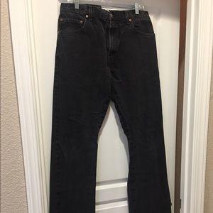 Men's Levi's 517 bootcut jeans size 34X34
